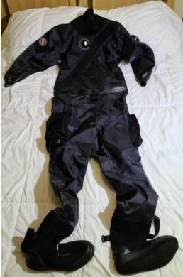 Trilaminate Diving Drysuit