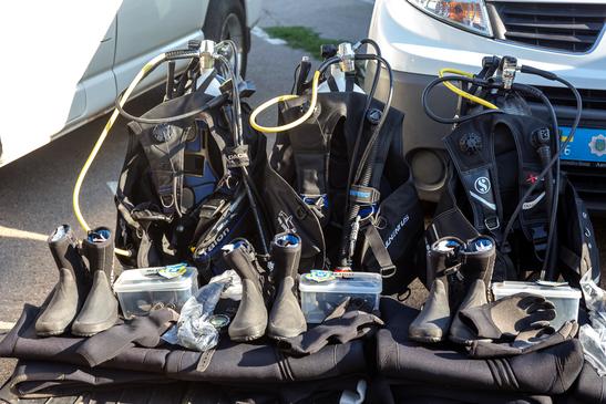 SCUBA wetsuit boots
